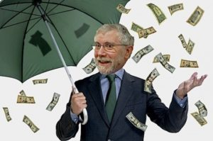 Krugman and his manna from heaven.