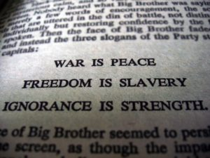 The Western media once used to be regarded as a model of free speech, now looks like an Orwellian parody.