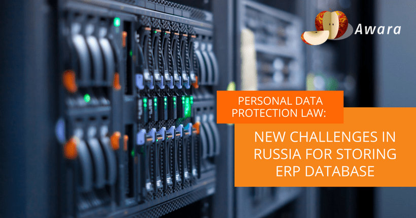 Personal Data Law: New Challenges in Russia for Storing ERP