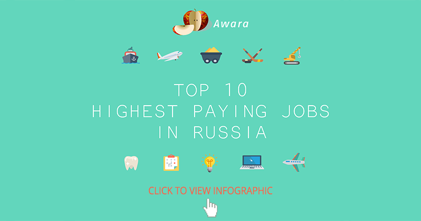 Top-10 Highest Paying Jobs in Russia in 2017