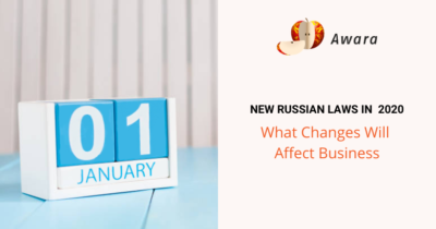 new Russian laws that affect business in 2020