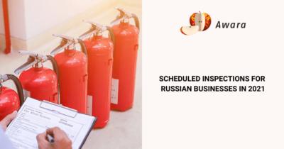 State scheduled checks in Russia in 2021