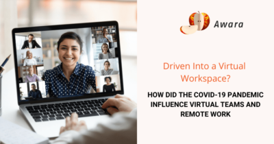 How did the Covid-19 pandemic influence virtual teams and remote work
