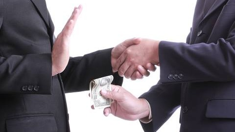 how to stop corruption in business