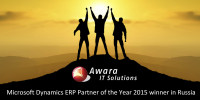 Awara IT Solutions – Microsoft ERP partner of the year in Russia