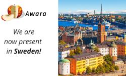Awara is now present in Sweden